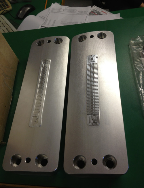 Fuel cell plate dies