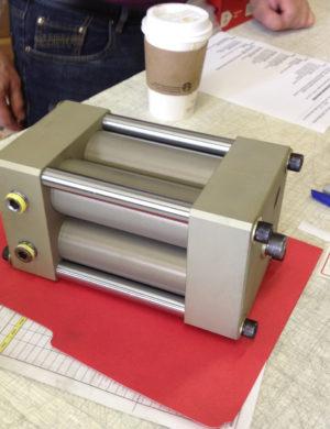 High pressure epoxy mixer